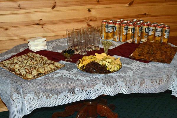 Užkandžių stalas